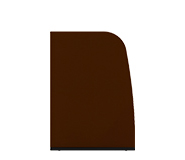 Panels Paravan — 132,5 cm, Panel with curved profile - Arper