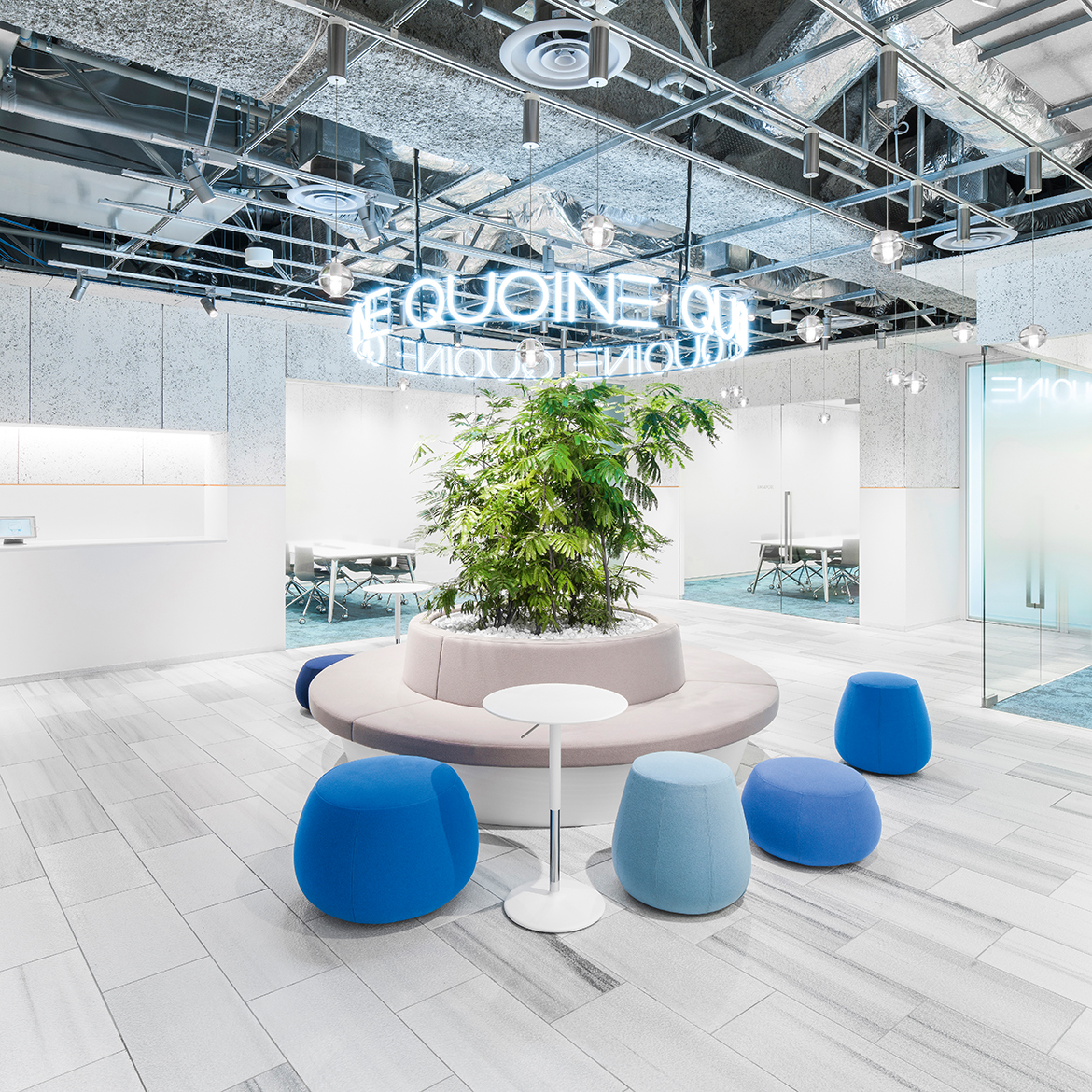 QUOINE Offices - Arper