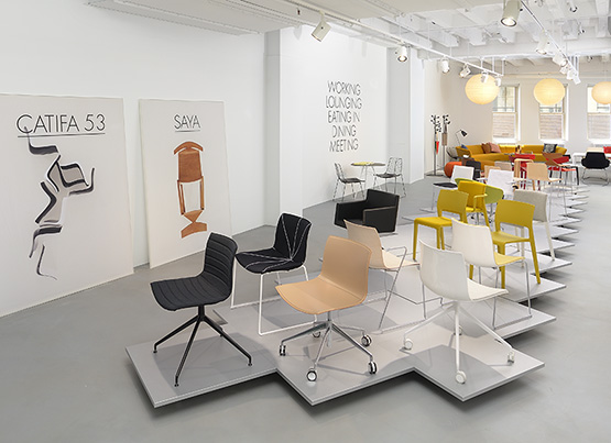 Nouveau Showroom de Chicago