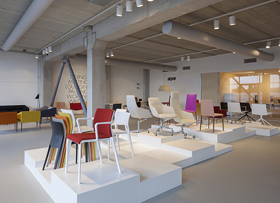 Nouveau showroom d'Amsterdam