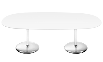 Duna Table — H 74 piètement double