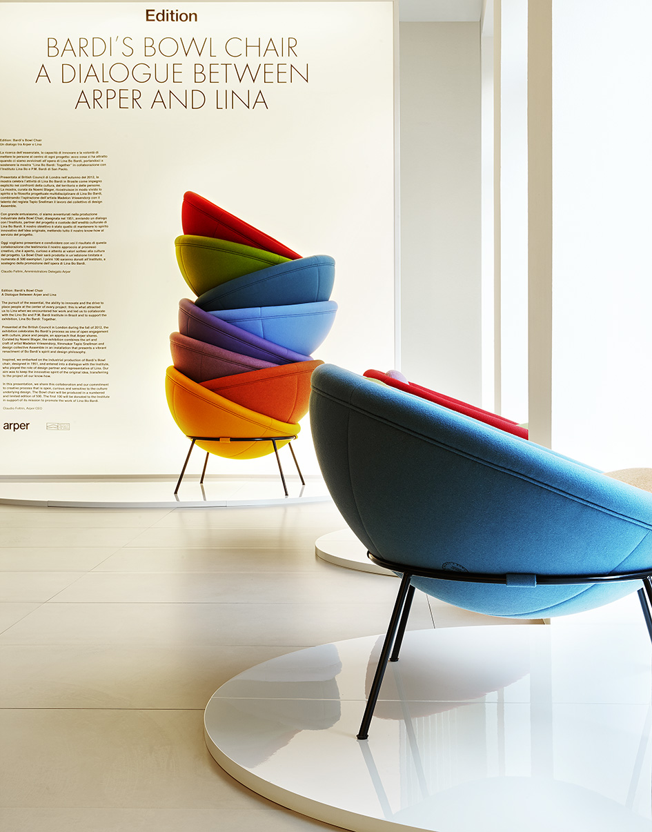 Bardis Bowl Chair Arper