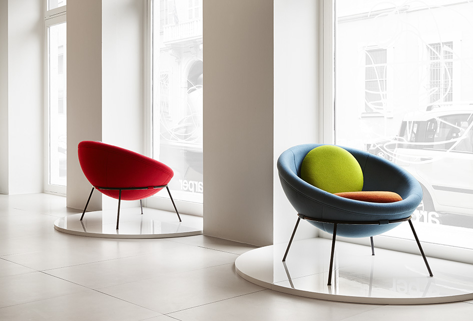 Bardi's Bowl Chair Milan 2013 Arper