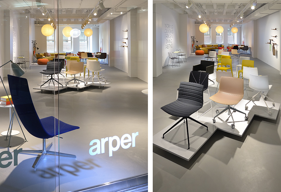 Arper at The Merchandise Mart Chicago Neocon 2013