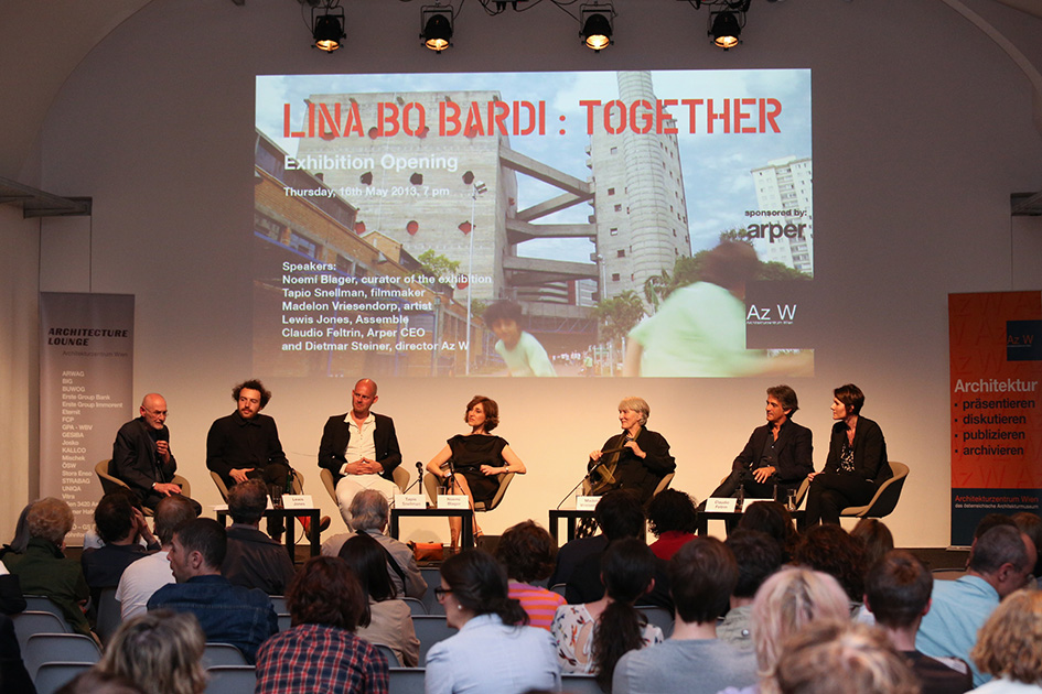 Lina Bo Bardi: Together opening Vienna