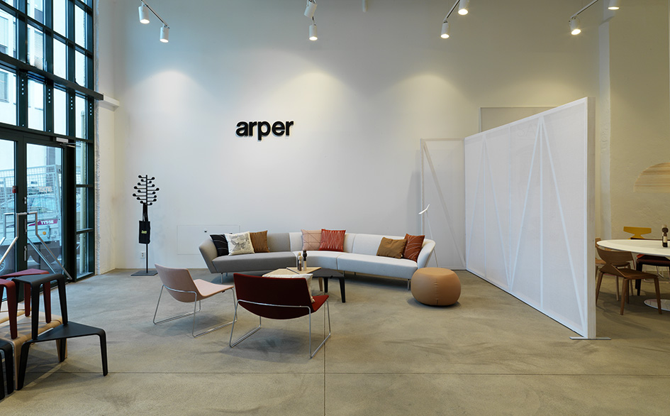 Stories Oslo Showroom Opening Arper