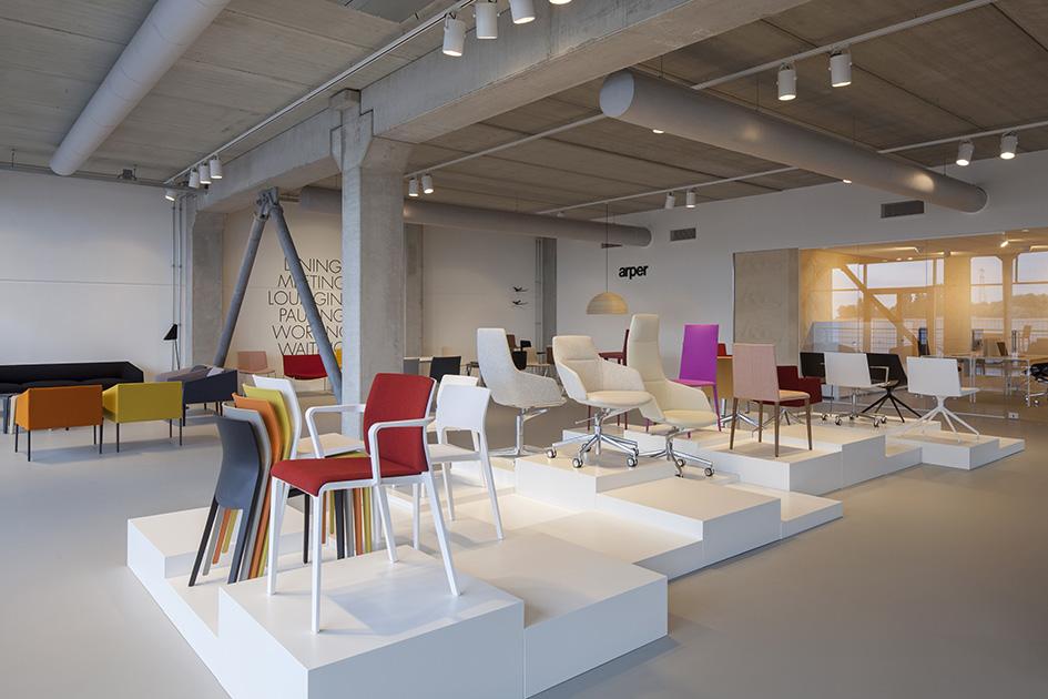 Stories Neuen Showrooms Amsterdam Arper