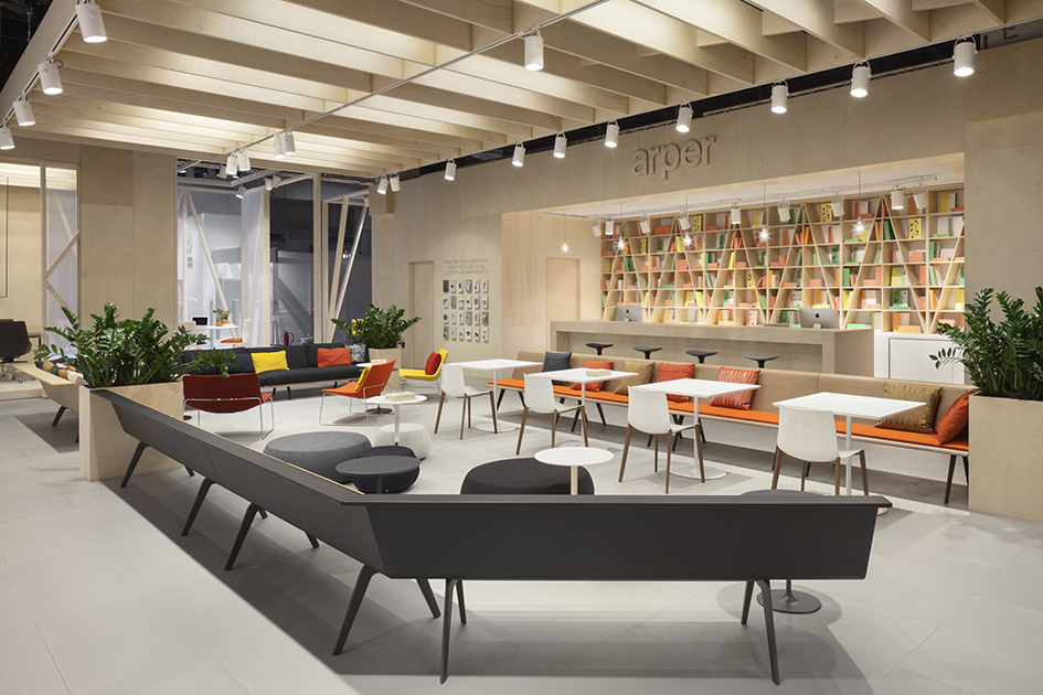 stories orgatec k ln 2014 arper. Black Bedroom Furniture Sets. Home Design Ideas