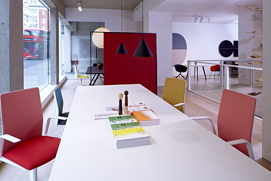 Camron Pr - Arper Showroom Interior - London, Clerkenwell, 2015