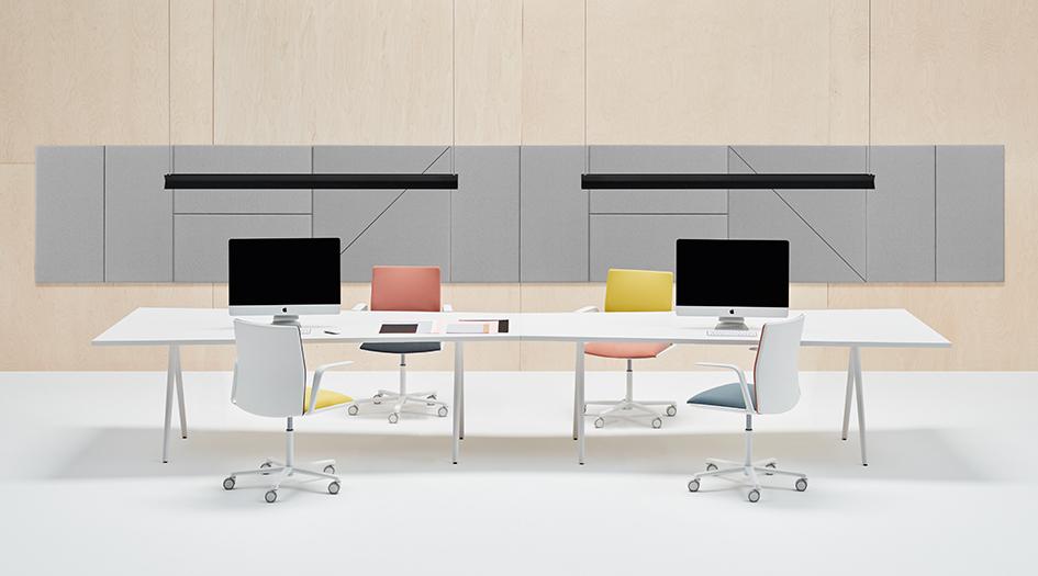 stories meety table arper. Black Bedroom Furniture Sets. Home Design Ideas