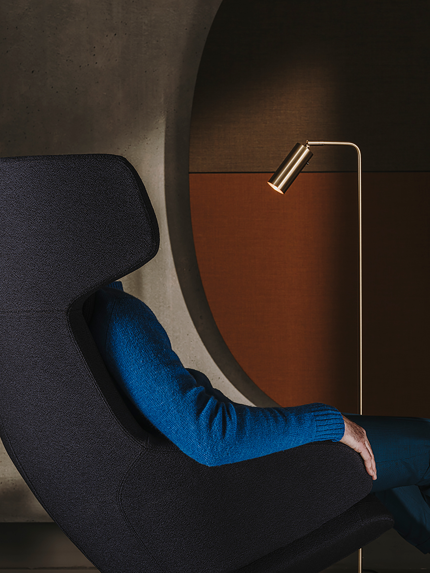 Aston Club chair by Jean-Marie Massaud. © Photo by Salva Lopez