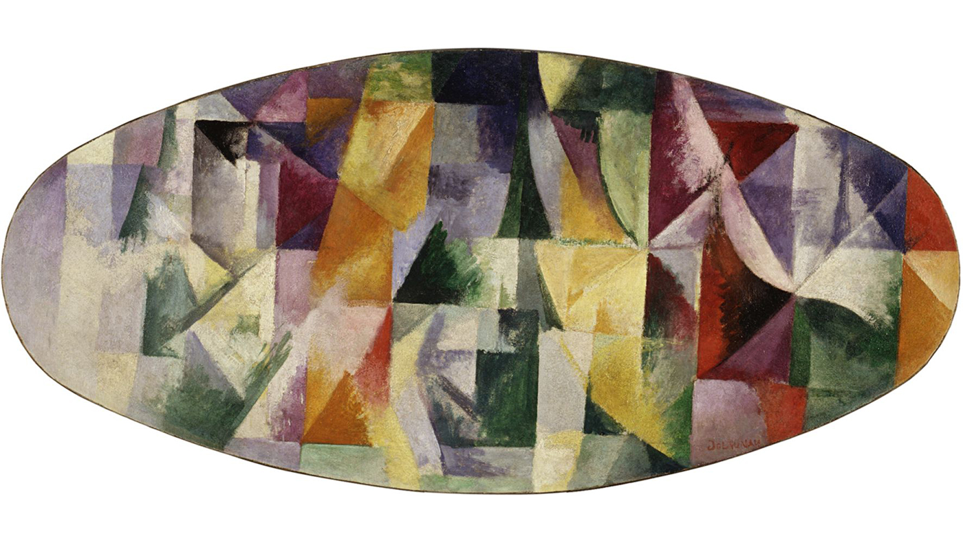 Robert Delaunay Windows Open Simultaneously 1st Part, 3rd Motif, 1912. Peggy Guggenheim Collection