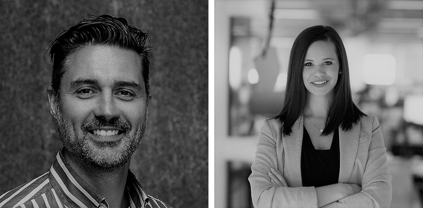 Daniel Herriott, Director of Design and Interiors, HOK, San Francisco e Diana Stansic, Interior Designer, HOK, Atlanta