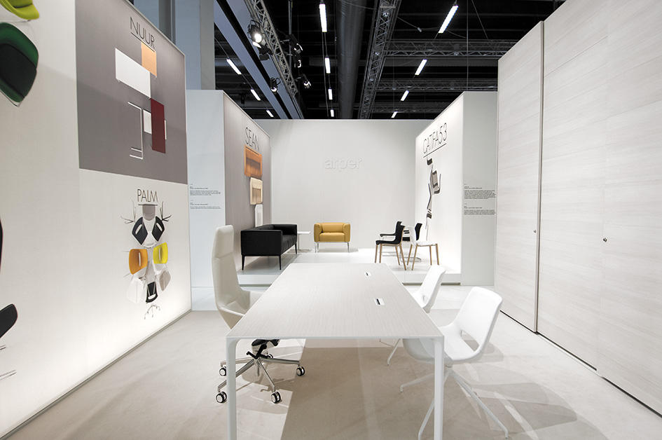 Arper at Stockholm Furniture Fair 2011