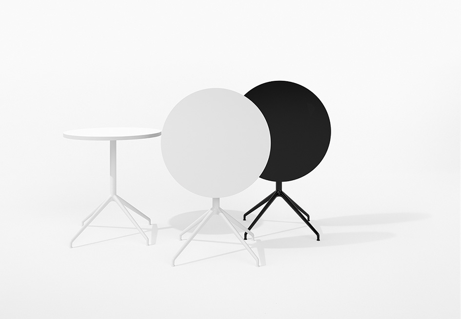 Arper Yop Table by Lievore Altherr Molina